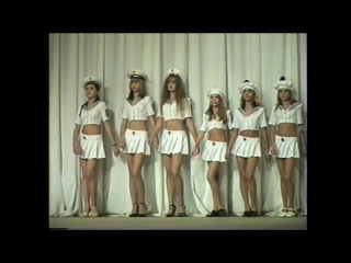 Parade of young models - watch videos online