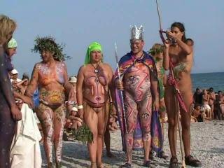 Nudist  camp 2 - watch videos online